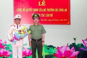 Đại tá Nguyễn Văn Trãi giữ chức Giám đốc Công an tỉnh Tây Ninh