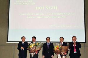 Ông Mai Sơn được bổ nhiệm Cục trưởng Cục Thuế Hà Nội