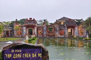 Xác định tên gọi là Cổng chùa Bà Mụ