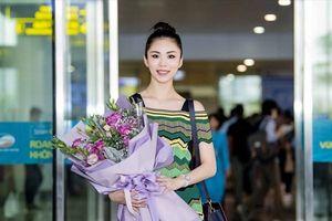 Hoa hậu Hoàn Vũ 2007 - Riyo Mori giản dị trở lại Việt Nam