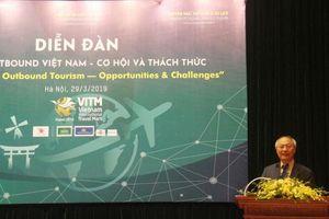 Du lịch outbound ở Việt Nam tiếp tục tăng trưởng