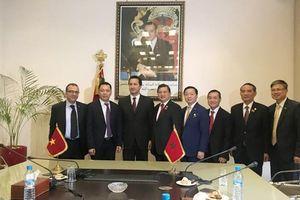 Việt Nam và Ma-rốc ký kết thành công hai Bản ghi nhớ về thúc đẩy hợp tác thương mại và công nghiệp