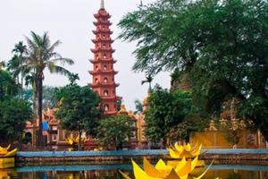 Báo Anh: Chùa Trấn Quốc đứng thứ 3 trong Top 10 ngôi chùa có cảnh đẹp 'không thể tin được'