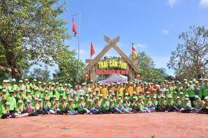 1500 bạn trẻ tham gia Hội trại Tuổi trẻ và Phật giáo lần thứ 13