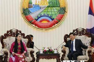 Thủ tướng Lào đánh giá cao sự hợp tác, giúp đỡ của tỉnh Vĩnh Phúc
