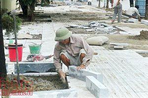 Hà Nội triển khai lát vỉa hè bằng đá tự nhiên