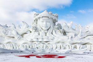 Chiêm ngưỡng 24 tác phẩm điêu khắc băng tuyệt đẹp trên thế giới