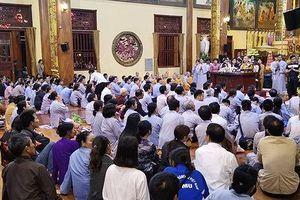 Đại đức Thích Trúc Thái Minh xin lỗi tăng ni, phật tử, tín đồ, nhân dân và các cơ quan báo chí