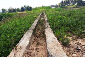Bình Định: Hệ thống kênh tưới hồ Cẩn Hậu hoạt động kém hiệu quả!