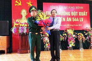 Quảng Bình: Tuyên dương Ban chuyên án 544 Lv phá đường dây mua bán, vận chuyển ma túy qua biên giới