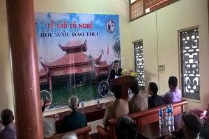 Hà Nội: Lễ Giỗ lần thứ 287 Tổ nghề rối nước làng Đào Thuc