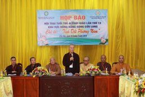Hội trại Tuổi trẻ và Phật giáo lần thứ 13 với gần 2000 trại sinh