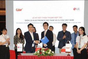 CJ CGV trở thành đối tác chiến lược của LG Electronics