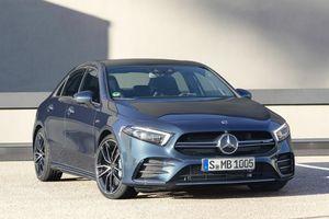 Mercedes AMG A35 Sedan mới lộ diện, rẻ nhất trong dòng sedan AMG