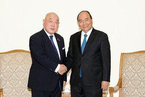 Thủ tướng Nguyễn Xuân Phúc tiếp Cố vấn đặc biệt Nội các của Thủ tướng Nhật Bản