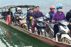 Cảnh báo mất an toàn giao thông đường thủy trên hồ thủy điện Sơn La