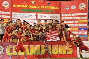 Xuân Tạo lập công, tuyển Việt Nam vô địch Giải U19 Quốc tế