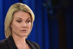 Phát ngôn viên Bộ Ngoại giao Hoa Kỳ Heather Nauert từ chức