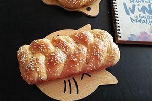 Làm bánh mì hoa cúc thơm ngon lại đơn giản thế này sao