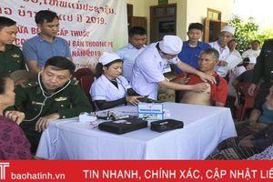 Vun đắp tình hữu nghị, hợp tác trên tuyến biên giới Hà Tĩnh - Bôlykhămxay