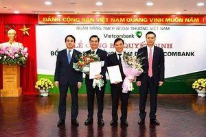 Ngân hàng Vietcombank cùng lúc bổ nhiệm 3 Phó Tổng giám đốc