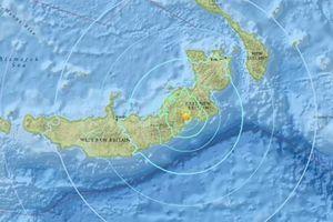 Papua New Guinea lại hứng chịu động đất