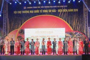 Khai mạc Hội chợ Thương mại quốc tế vùng Tây Bắc – Điện Biên