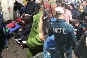 Bắt giữ đối tượng bịt mặt nổ súng cướp tiền của nữ tiểu thương chợ Long Biên