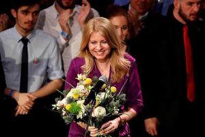 Nữ luật sư đắc cử tổng thống Slovakia, làm nên lịch sử