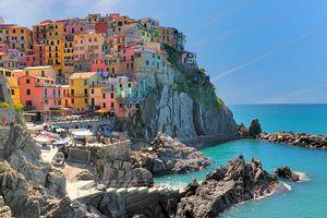 Ghé 5 ngôi làng rực rỡ bên bờ Địa Trung Hải, miền biển đẹp nhất Italy