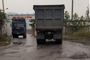 Quảng Ninh yêu xử lý xe cơi nới thành thùng, chở quá tải trọng trên QL 279