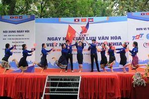 Sôi nổi, ý nghĩa Ngày hội giao lưu văn hóa Việt Nam – Lào – Campuchia năm 2019