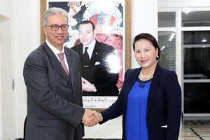 Chủ tịch Quốc hội Nguyễn Thị Kim Ngân gặp Toàn quyền Vùng Marrakech