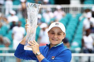 Miami Open: Barty là tay vợt thứ 14 đăng quang ở WTA Tour mùa này