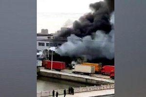 Trung Quốc: Container chở kim loại phế liệu bất ngờ phát nổ, ít nhất 7 người chết