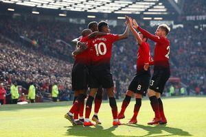 M.U leo lên vị trí thứ 4 Premier League