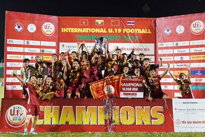 Qua mặt Thái Lan, U.19 Việt Nam đăng quang U.19 quốc tế