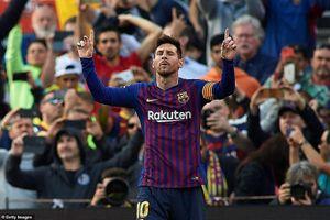 Messi lập siêu phẩm, Barcelona hạ gọn đội bóng của Wu Lei
