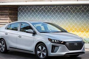 Xe Ioniq của Hyundai giữ vững vị trí xe tiết kiệm nhiên liệu nhất ở Mỹ