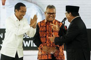 Các ứng cử viên tổng thống Indonesia tranh luận trực tiếp lần thứ 4