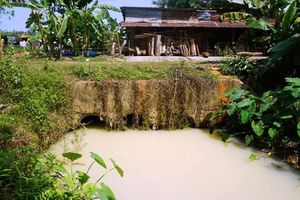Đà Nẵng tìm ra 'thủ phạm' xả nước thải hôi thối ra sông