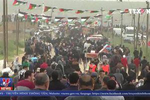 Đụng độ gây thương vong lớn tại Dải Gaza