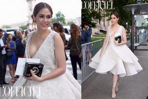Thời trang gợi cảm 'nhức mắt' của mỹ nhân đẹp nhất Thái Lan Chompoo Araya