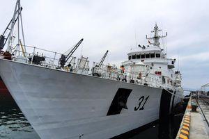 Tàu Hải quân Ấn Độ cập cảng Đà Nẵng