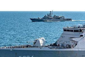 Hạm đội NATO tiếp cận biển Azov trước tình hình Ukraine