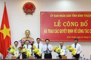Bình Thuận bổ nhiệm nhiều vị trí lãnh đạo
