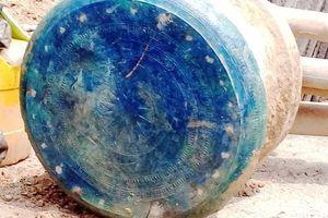 Tìm thấy trống đồng cổ tại Lào Cai