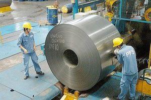 Sắt thép tăng trưởng xuất khẩu