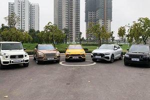 Dàn siêu SUV trị giá bạc tỷ 'xếp hình' tại Hà Nội
