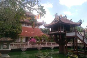 Cực độc ngôi chùa Một Cột có một không hai ở Sài Gòn